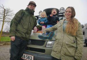 Lene og Emil og børn